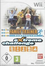 FAMILY TRAINER EXTREME CHALLENGE for Nintendo Wii - NEW in seal