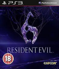 RESIDENT EVIL 6  EN CASTELLANO NUEVO PRECINTADO  PS3
