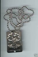 Idf Zahal ' After me to Golani '  Dog Tag Disk w/ Necklace.Tree Insignia Israel