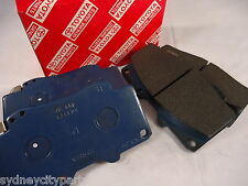 TOYOTA HILUX FRONT BRAKE PADS SR5 WORKMATE SR FROM FEB 2005 - JULY 2015 GENUINE