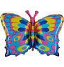 Schmetterling Butterfly Luftballons xxl Folienballon Geburtstag Helium Party
