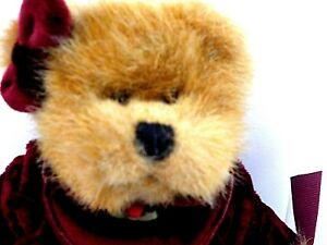 Paige 44741 Vintage Russ Berrie Teddy Bear Limited Edition Plush Handmade New