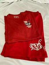 Badger State lacrosse Warrior shorts and New Balance Dry-Fit shirt - Xl