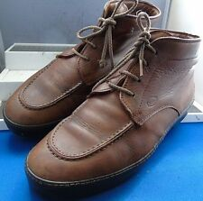 IKAM CLASSIC TOD'S VTG BROWN LEATHER CHELSEA BOOTS UK 8 EU 42