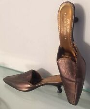 Donald J Pliner Couture Brown 8 1/2 Mules