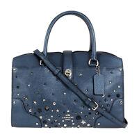 Coach Mercer 30 Ladies Large Leather Satchel Handbag 59497