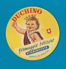 VERY RARE cheese label ITALY ettiquette Fromage formaggio Kase Kaas Ost #135