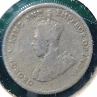 British Colony Hong-Kong, 1935 Ten Cents - Copper-Nickel - KM # 19