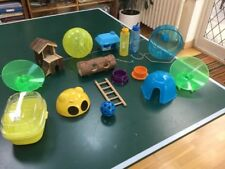 Large Selection Of Items For Hamster Gerbil Cage