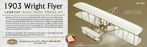 Guillow's 1903 Wright Brothers Flyer Laser-Cut Balsa Wood Model Plane  GUI-1202