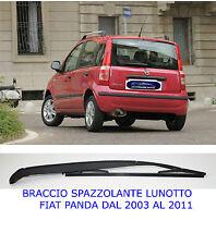 Braccio Tergicristallo posteriore per Fiat Panda dal 2003 al 2011 con Spazzola