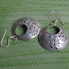 Outstanding Earrings Thai Design Karen Hill tribe Fine Silver