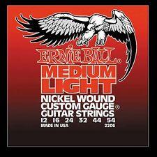 Ernie Ball P02206 Nickel Wound Medium Light Slinky Electric Guitar Strings