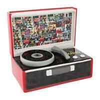 The Beatles Record Player Shaped Cookie Jar Collectible Treat Jar, Ceramic