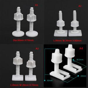 4x toilet seat hinge bolts replacement screws fixing fitting kit repair tool Fn