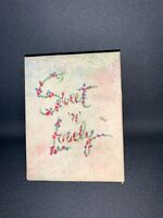 10 Antique Vintage Clear Plastic Vellum Greeting Cards Original Box 40's 50's