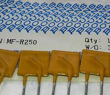 5 Stück Bourns MF-R250 Resettable Fuse (Multifuse) 2,5A 30V / Sicherung (M1556)