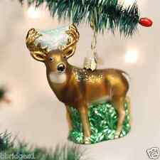 *Whitetail Deer Buck* Hunting Wildlife [12162] Old World Christmas Ornament- NEW
