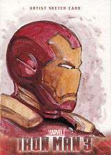 Iron Man 3 Movie Sketch Card by Unsigned Of Iron Man