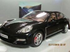 RARE 1:18 NOREV PORSCHE PANAMERA TURBO black Noir (boite Porsche)