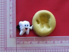 Tooth Silicone Mold Resin Clay A901 Fondant Candy mould Sugarcraft Chocolate