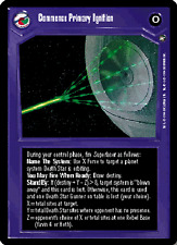 Commence Primary Ignition [Near Mint] A NEW HOPE LIMITED BB star wars ccg