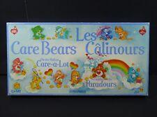 Care Bears Board Game Bilingual E/F Les Calinours Jeu Parker Brothers 1983