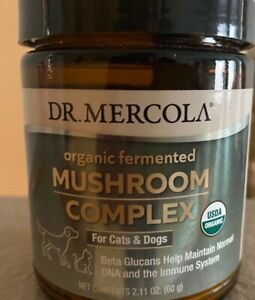 Organic Fermented Mushroom Complex For Cats And Dogs 2.11oz 60g Dr Mercola