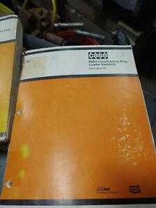 CASE 680H CONSTRUCTION KING LOADER BACKHOE PARTS CATALOG 1404