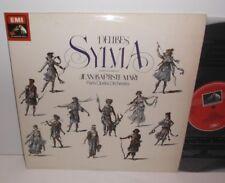 SLS 5126 Delibes Sylvia Paris Opera Orchestra Jean Baptiste Mari 2LP