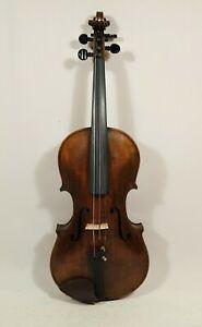 Uralte Geige Violine violin mit Zettel