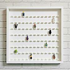 LEGO Minifigure Display Frame Case Large - Fits 104 Minifigs - White (White)