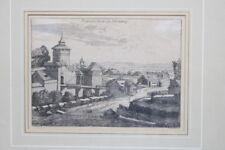 Original Grafik Nürnberg um 1700
