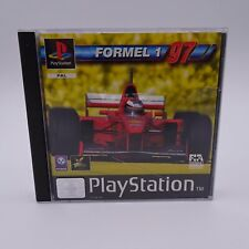 Formel 1 97 Sony PlayStation 1 PS1 PAL Spiel Game Rennen Simulation