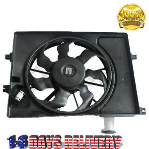 Radiator Cooling Fan Assembly Fits 14-18 Hyundai Elantra Kia Forte 253803X500