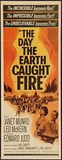 Day The Earth Caught Fire 14x36 Insert Movie Poster Replica