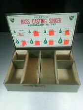 Vintage Pfluger Bass Casting Sinkers Display Box