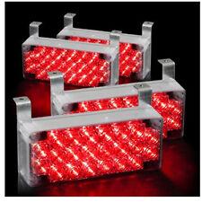 88 LED Car Emergency Hazard Flash Strobe Warning Light For Grille Deck Red