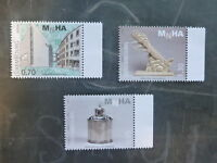 2015 LUXEMBOURG MUSEUM OF ART & HISTORY SET 3 MINT STAMP MNH