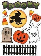 Halloween Quick Cropper Cuts colored DIe cuts Outdoors & More