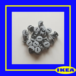 119081 X 10 IKEA Plastic Cam Nuts Fixings GREY for BILLY - 100% Genuine