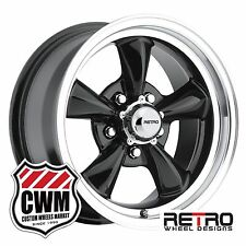"15 inch 15x7"" / 15x8"" Gloss Black Wheels Rims for Chevy S10 trucks / Blazer 2wd"
