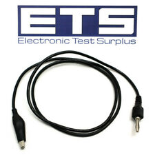 """Replacement 36"""" Alligator Clip - Banana Plug Test Lead Cable"""
