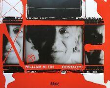 KLEIN - William Klein. Contacts. Delpire 2008. Testi di Delpire e Klein.Cm 34x4