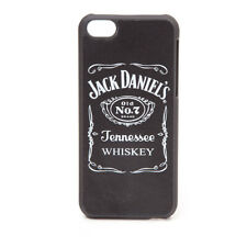 Jack Daniel'S Logo Leather Phone Cover For Apple Iphone 5C Black