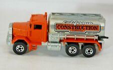 Hot Wheels Vintage 1979 WorkHorses Peterbilt Orange (Near Mint) Unplayed