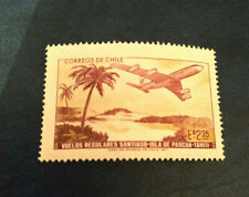 Chile 1972 Plane/Aircraft/Aviation/Commerce/Palm Trees/Transport 1v (n23671)