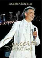 Concerto One Night In Central Park - Bocelli Andrea DVD Sealed ! New !