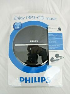 BNIB Philips Portable MP3-CD Player Walkman Dynamic Bass Boost 100 Sec Magic ESP