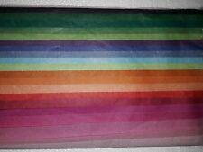 Tissue Paper Multi Colour Pack Large Sheets 50 x 70 cm  20 Sheets